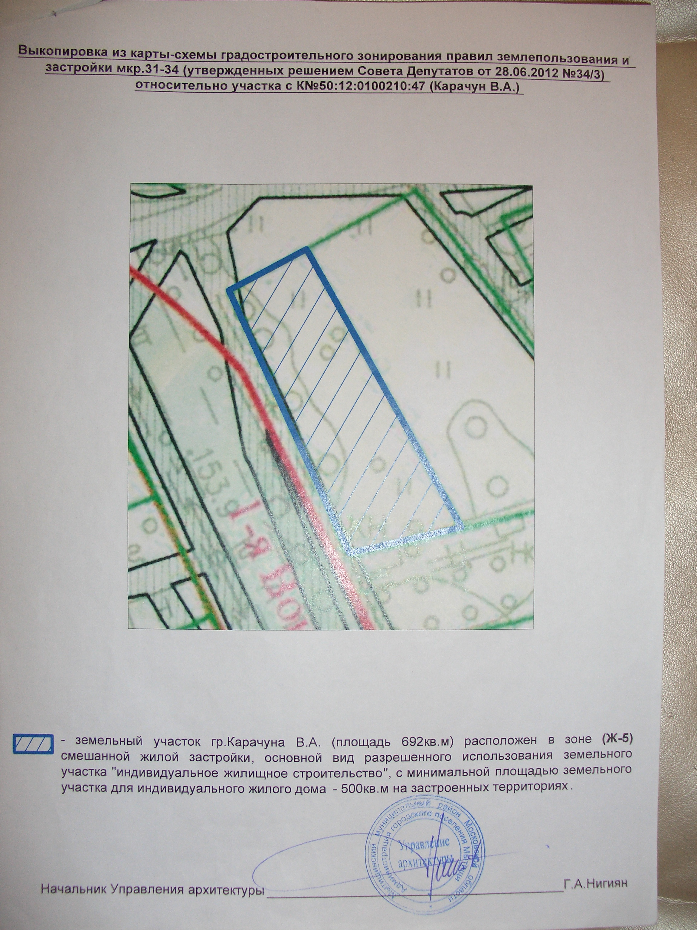 образец заявления о изменении разрешенного использования земли